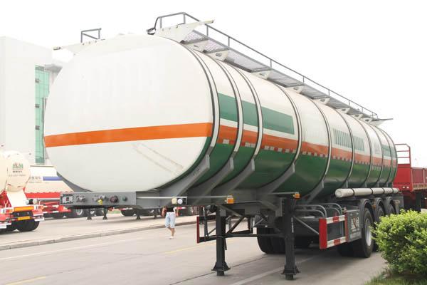 aluminium oil tank trailer