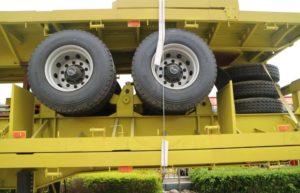 cargo flatbed trailer