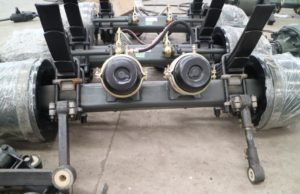 container chassis axles