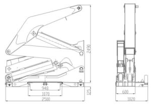 container side lifter drawing1
