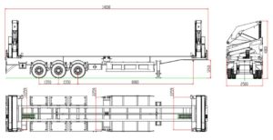 container side loader drawing