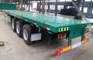 flatbed trailer