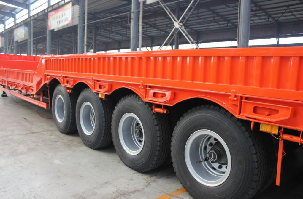 2 3 4 5 Axles Low Loader Low Bed Trailer For Sale From