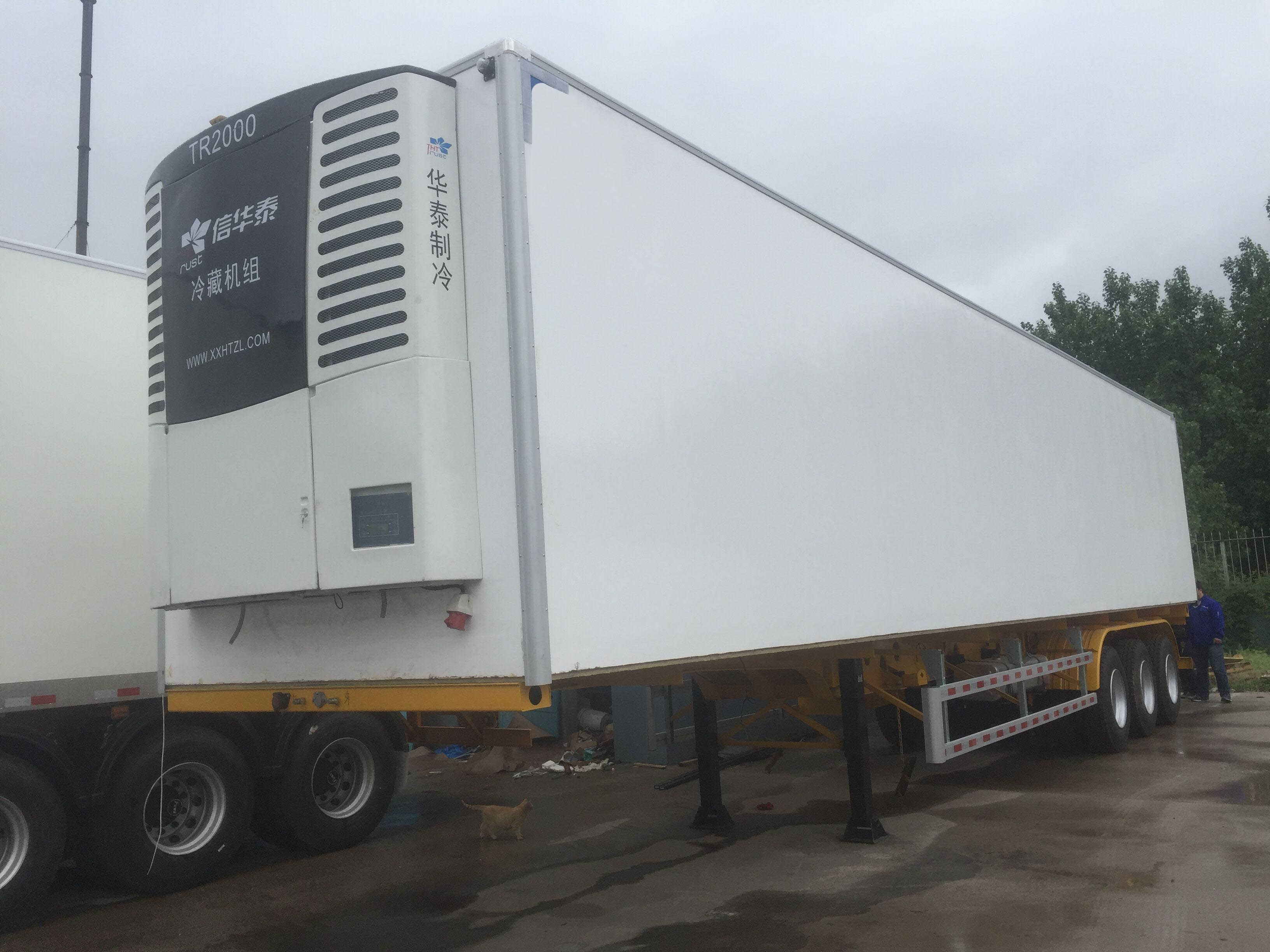 2f940e1ce61002 Work Principle of Refrigerated Van Trailers - Learn Reefer Trailer ...