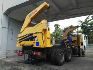 sideloader truck