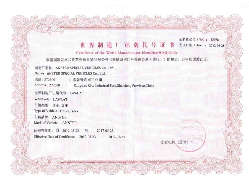 world manufacturer