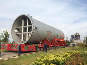 Chemical tanks transport