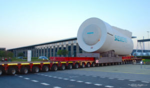 Wind industry transportation