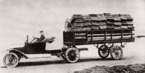 first semi-truck