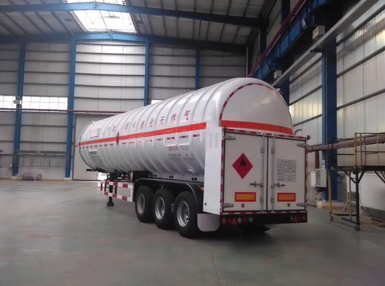 liquefied natural gas tank trailer