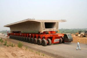 Bridge Segment Transporter