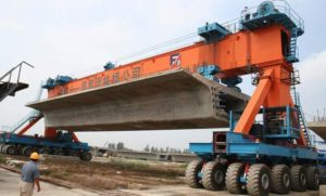 Twin girder carriers