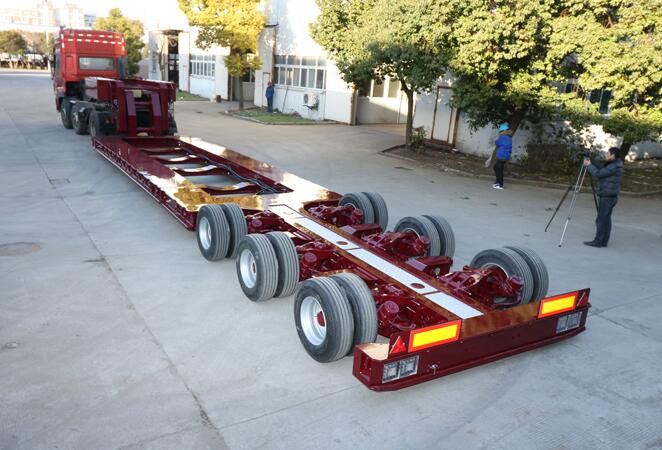 Special low bed trailer