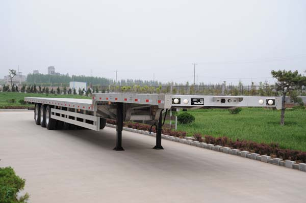 aluminium low bed trailer