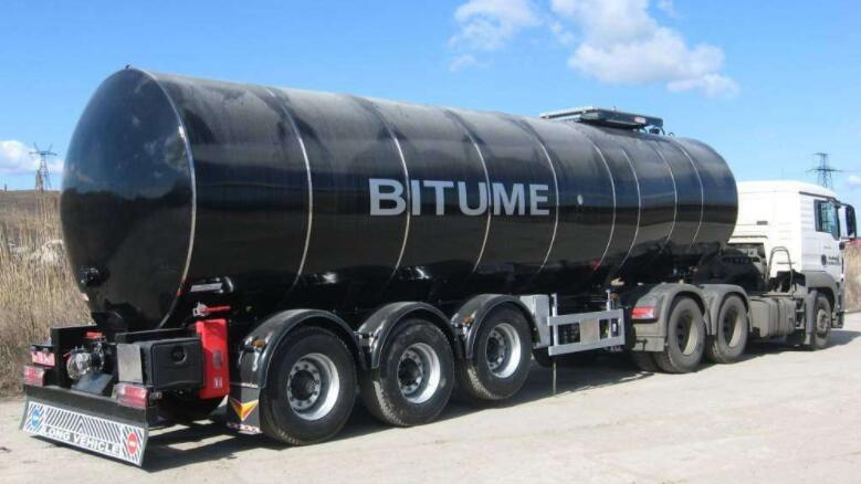 asphalt tank trailer