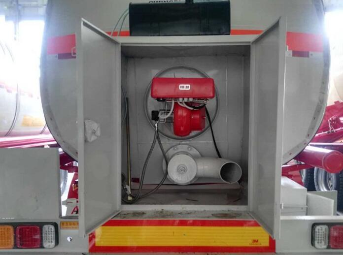 diesel burner tanker