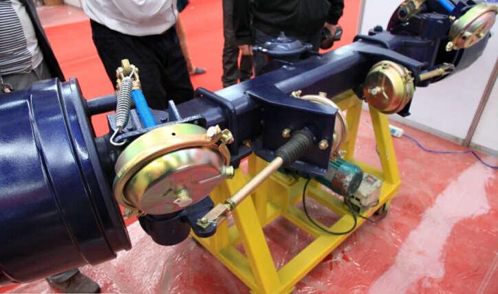 self-steering axles
