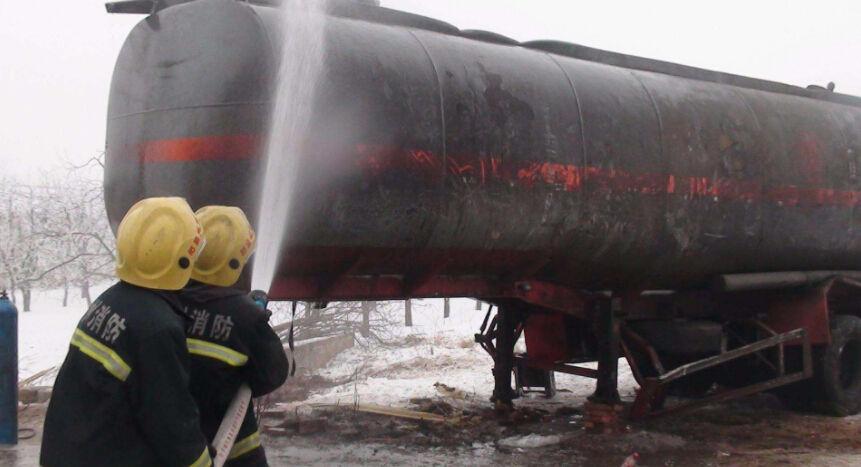 Tank trailer leakage