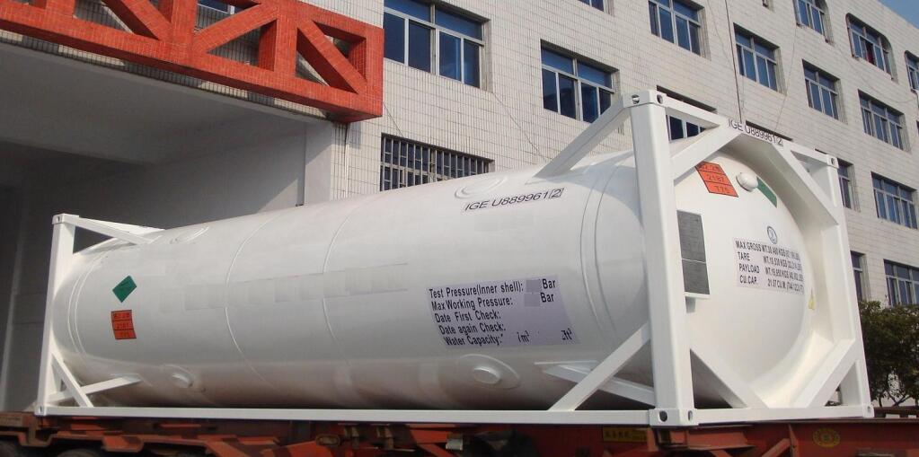 lng container trailer