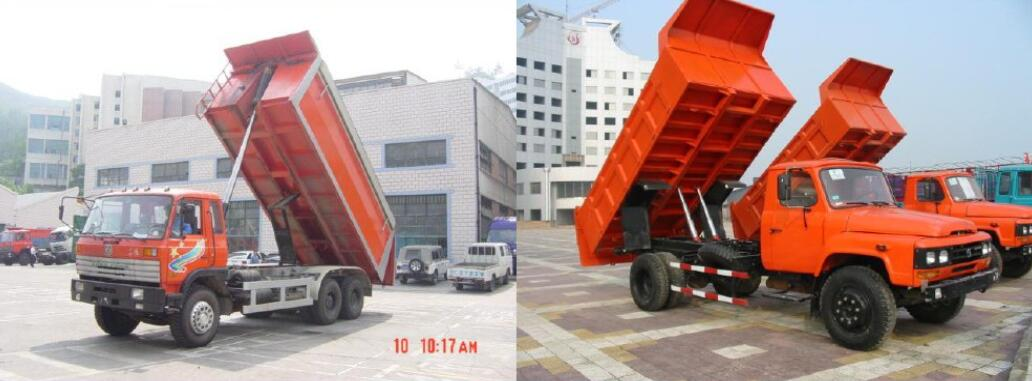 front and rear push tipper