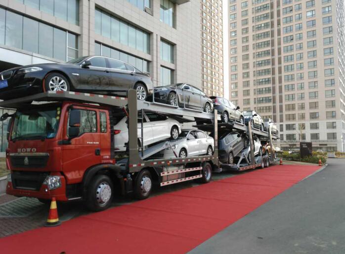 hydraulic system car carrier 2