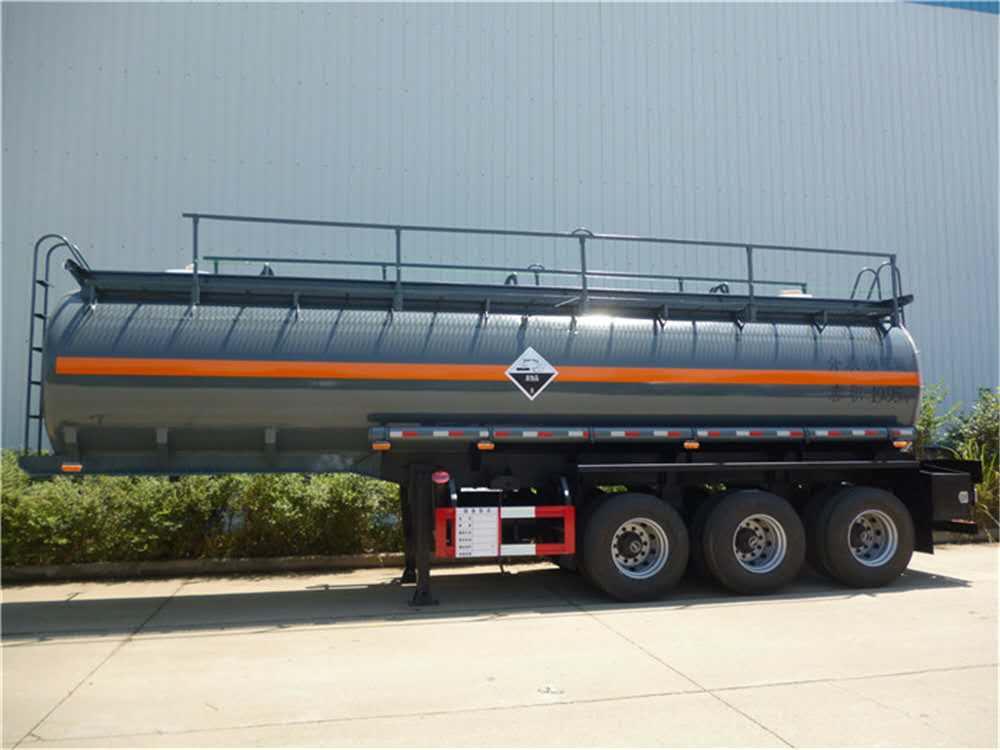 hydrochloric acid tanker trailer