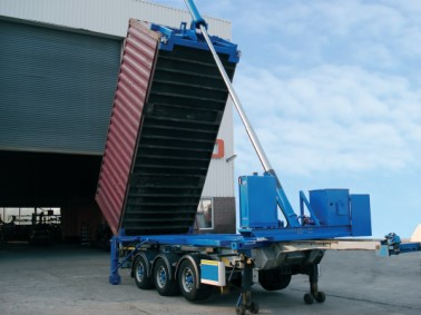 Common Container Tipper Trailer