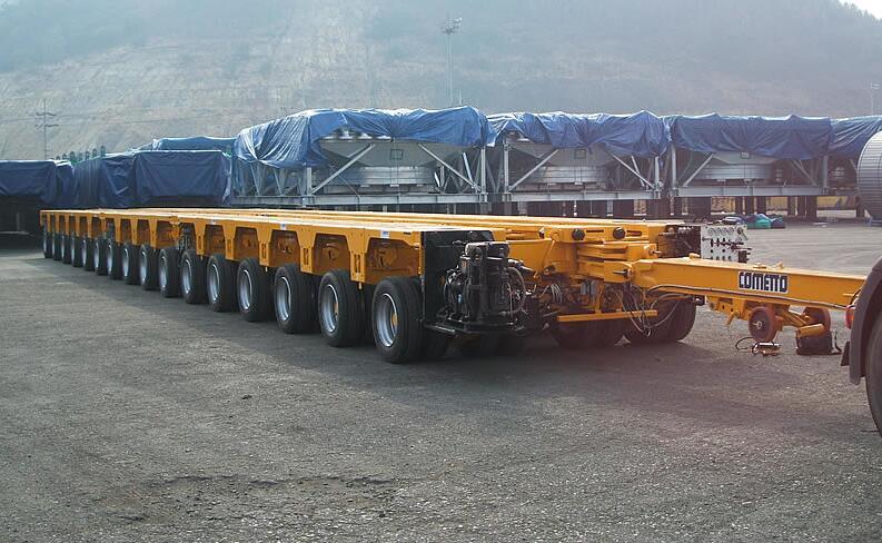 cometto modular trailer