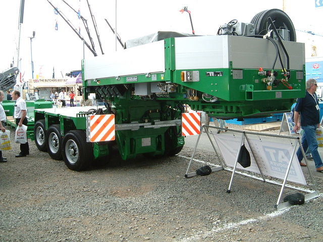 goldhofer modular trailer