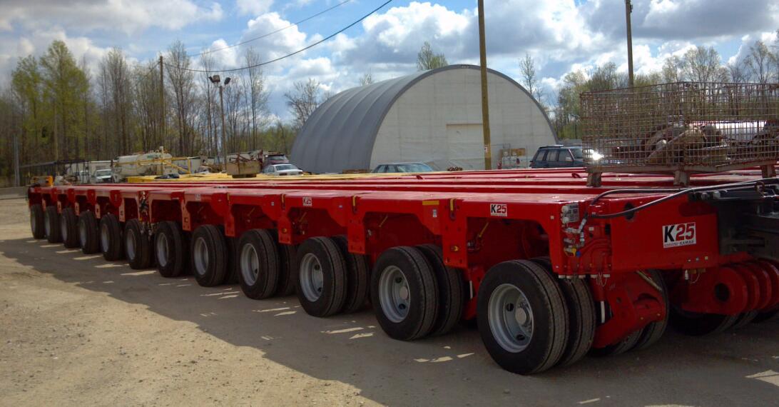 kamag modular trailer