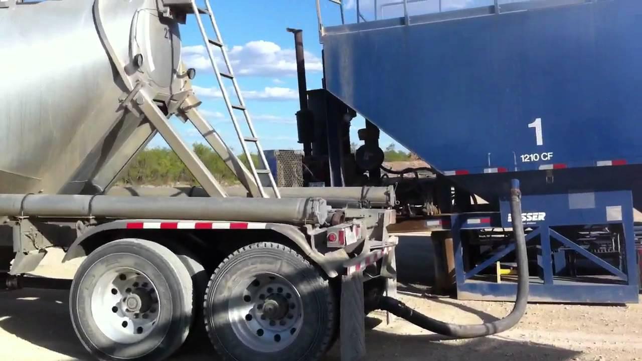 pneumatic tanker trailer operation