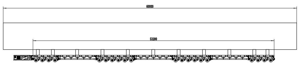 Flat beam for SPMT
